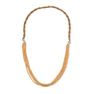 Multi Wear Set of 2 Wooden Jasper, Necklaces